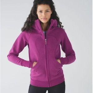 Lululemon Plum Purple Scuba Zip Up Hoodie 4